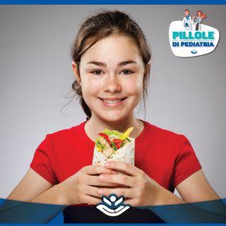 Alimentazione durante l'adolescenza