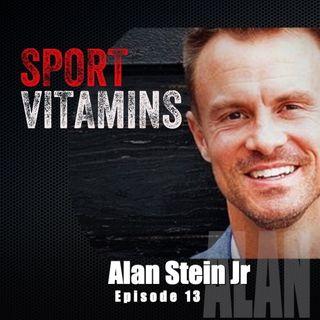 Episode 13 - SPORT VITAMINS (ENG) / guest Alan Stein Jr, professional speaker