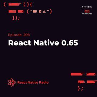 RNR 208 - React Native 0.65