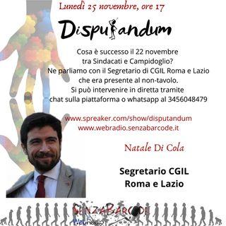 Conversazione con Natale Di Cola - CGIL Roma e Lazio