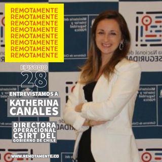 28 - Katherina Canales, Directora Operacional del CSIRT del Gobierno de Chile.
