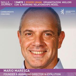 Skills Journey (1) | Essere Umani: Organizzazioni migliori con il Working Relationships® Model | Mario Maresca