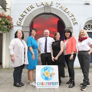 """CreateFest"" is running in Waterford's Cultural Quarter on Friday October 11th."
