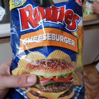 Snacktime! 28: Cheeseburger Ruffles