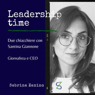 Due chiacchiere con Santina Giannone, giornalista e CEO