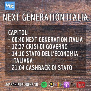 Recensione NEXT GENERATION ITALIA e stato dell'economia italiana