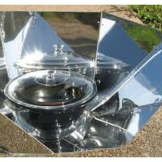 Solar Cooking with Solar Chef L.A.: 619-768-2945