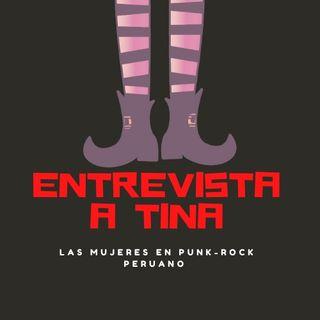 Rock subterráneo hecho por mujeres, entrevista a Tina parte 1