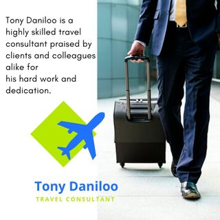 Tony Daniloo - Well Know Travel Blogger