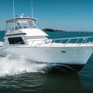 Hatteras 52 Convertible : classe marmorea per pesca e crociera