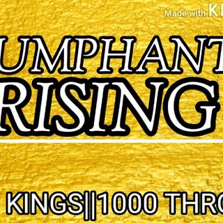 RISING VICTORY| SUCCESS AFFIRMATIONS | TRIUMPHANT CONFIDENCE