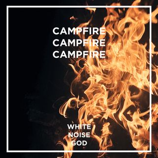 Black Forest Campfire | White Noise | ASMR sounds for deep Sleep Better | Relax | Study | Work