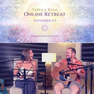 Music Session - Tabula Rasa Online Retreat with Ricki Comeaux and Erik Archbold - September 2021