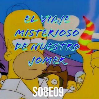 127) S08E09 (El Viaje Misterioso de Nuestro Jomer - The Mysterious Voyage of Homer)