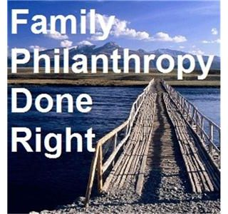 Family Philanthropy Radio - Avoiding Drive-By Philanthropy