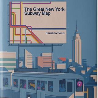 """Emiliano Ponzi """"La grande mappa della metropolitana di New York"""""""