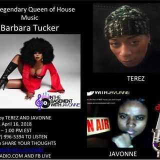 Barbara Tucker joins Terez for Brunch in the Basement With JaVonne