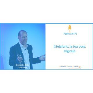 #171 Anche la voce diventa canale digitale [intervista a Domenico Rossi]