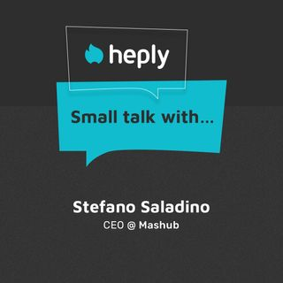 Small Talk With...Stefano Saladino