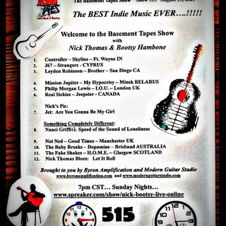 The Basement Tapes with Nick & Bootsy #515