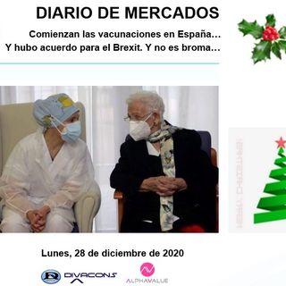 DIARIO DE MERCADOS Lunes 28 Dic