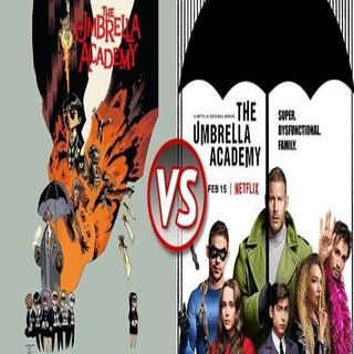 Comic Stripped: The Umbrella Academy (Vol 1 and Season 1)