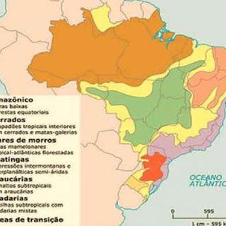 PodGeo - Domínios Morfoclimáticos Brasileiros