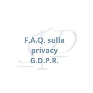 GDPR Privacy: risposte semplici alle domande più frequenti
