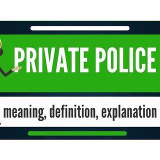 Private Police vs Government Police: 619-768-2945
