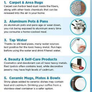 The DANGER of HEAVY METALS in The HOME