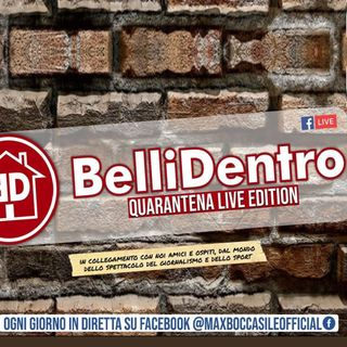 "Ospite a ""BELLI DENTRO QUARANTENA LIVE EDITION"""