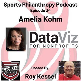 EP34: Amelia Kohm, Data Viz for Non Profits