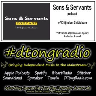 #MusicMonday on #dtongradio - Powered by Sons & Servants Podcast