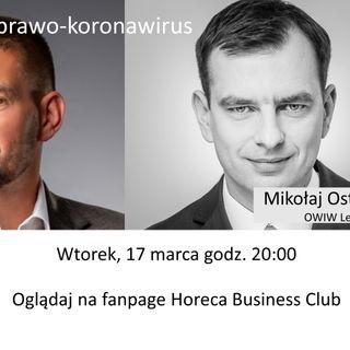 Prawo w Horeca odc 10 - Horeca-prawo-koronawirus
