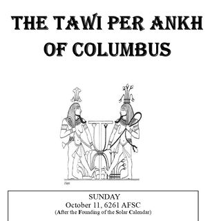 The Tawi Village Presents - Per Ankh For Columbus