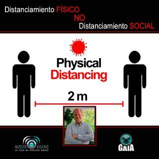 NUESTRO OXÍGENO Distanciamiento físico no social - Psicólogo Nelson Molina