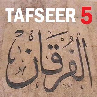 Soorah al-Furqaan Part 5, Verses 25-29