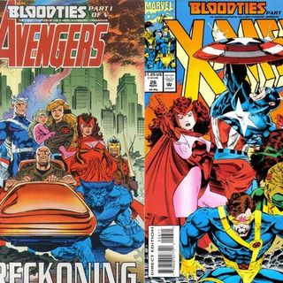 Avengers & X-Men Bloodties Comics (Marvel, 1993)