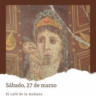 Sábado, 27 de marzo. Cleopatra regresa al trono de Egipto