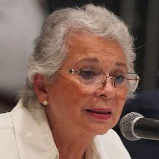 Olga Sánchez Cordero, reconoció que en la Cámara de Diputados será más complicada la construcción de acuerdos