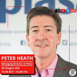 Il piu' grande organizzatore di eventi in UK Peter Heath (PLASA)- Cosa cambia dopo il covid?