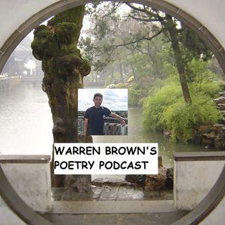 Warren Brown's Poetry Podcast- Episode 2