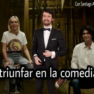 Hablemos de cómicos con Santi Alverú y Ana Bravo.