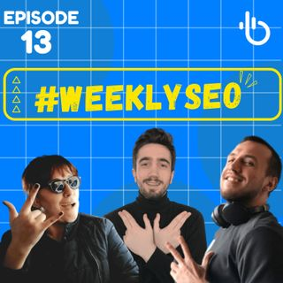 Why should you be an out of the centre follower in SEO? - Weekly SEO #13