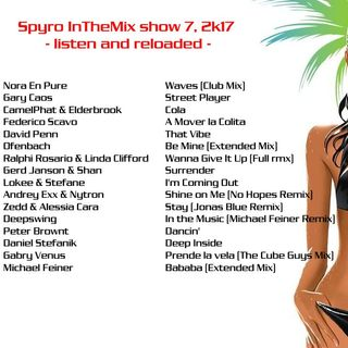 inthemix show 7 listen and reloaded