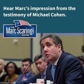 2019-03-02 On the testimony of Michael Cohen