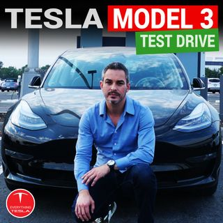 Tesla Model 3 - My Test Drive Review