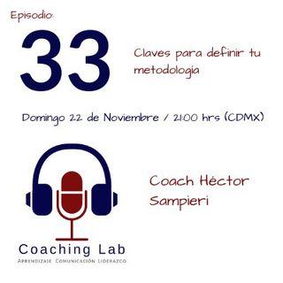 """Episodio #033 """"Claves para definir tu metodologia"""""""