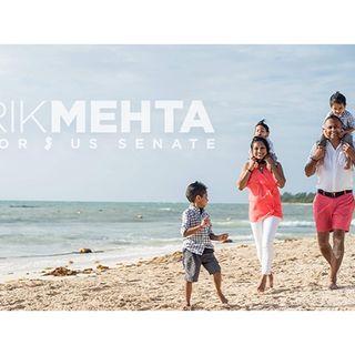 Meet Rik Mehta US Senate Candidate for New Jersey