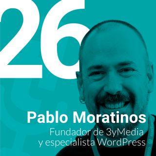 Episodio #26: Analítica web y experiencia del usuario con Pablo Moratinos de 3yMedia